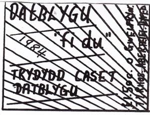 Fi Du - hysbyseb bach